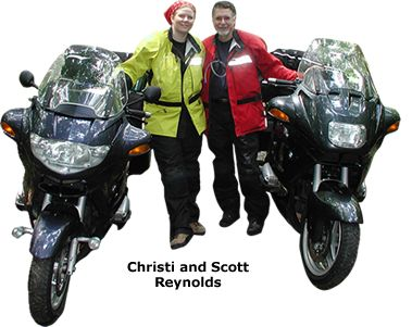 Motorcyle Travel Network founders Scott and Christi Reynolds